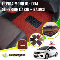 Karpet Mobil NEXT LEVEL SUPERIOR Honda Mobilio (DD4) Cabin Bagasi