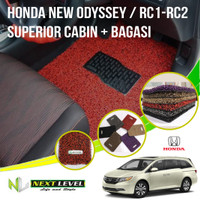 Karpet Mobil NEXT LEVEL SUPERIOR Honda New Odyssey Cabin Bagasi
