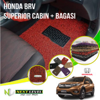 Karpet Mobil NEXT LEVEL SUPERIOR Honda BRV Cabin Bagasi