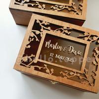 Custom Box 20x15cm / Bridesmaid Box / Kotak Hampers / Ring Box