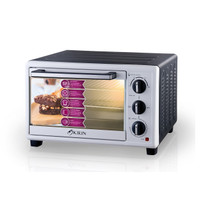 KIRIN BEAUTY OVEN (LOW WATT)BLACK KBO-360LW