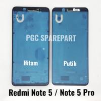 Ori Frame Bezzel Tulang Tengah Xiaomi Redmi Note 5 / Note 5 Pro Bejel