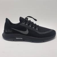 Sepatu Sneakers Pria Nike Pegasus 35 Shield Full Black