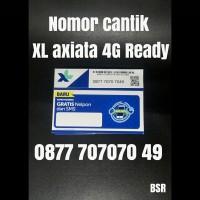 Nomor cantik XL Axiata 4G ready kartu perdana pilihan triple AbAb 7049