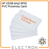 Print Full Color 13.56 MHz RFID Contactless Access Card Cetak 13.56MHz