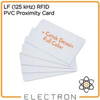 Print Full Color 125 kHz LF RFID Proximity Access Card Cetak 125kHz