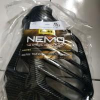 tutup radiator nmax carbon nemo