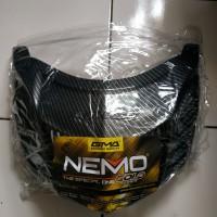 cover lampu stop nmax carbon nemo