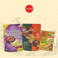 Rasalokal Signature Sambal Matah Bali, Ayam Goreng Lembang, Stik Talas
