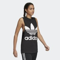 Adidas trefoil singlet