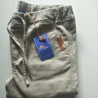 Celana panjang Jogger anak merk rodeo junior 0101 - 11-12 tahun, Biru
