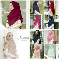 Bergo Ceruti Marina Hijab Instan Jilbab Instant Kerudung Khimar