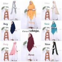 Khimar Syar'i Anindya Hijab Jilbab Kerudung Hijab Instan Jilbab Instan