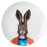 ZEN Piring Animal Series - Rabbit diameter 22 cm