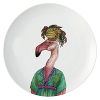ZEN Piring Animal Series - Flamingo diameter 22 cm