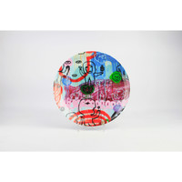 (2pcs) Zen Art Jakarta Piring Designer Soni Irawan - 27 cm Giftbox