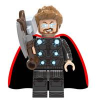 Marvel Avengers Thor Infinity War Minifig Minifigure Lego bootleg