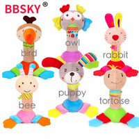 BBSKY Baby Rattle Stick Teether - Mainan Bayi