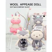 BBSKY Stoller Toys - Wool Doll - Boneka Bayi