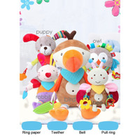 BBSKY Baby Hanging Toy Rattle & Teether - Baby Activity Toy
