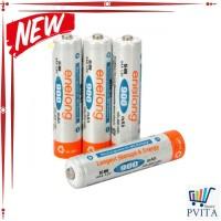 Kode : SALE Enelong Baterai Cas Ni-Mh AAA 900mAh 4PCS - HR03 / MN2400