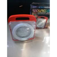 Lampu Emergency Lantern 20W 8 Pcs Led Rechargeable - CMOS HK-6V8L