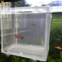 [LONG] Net/Jaring Pemisah Ikan Ukuran S untuk Pembiakan/Isolasi di