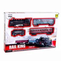 Mainan Anak Kereta Api Rail King 3 Gerbong No.19051-5