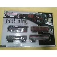 Mainan Anak Mainan Kereta Api Hitam - Rail King 190334
