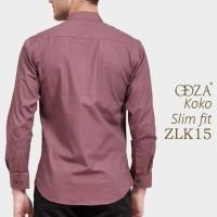 Busana Muslimin Modern Baju Koko Gamis Lengan Panjang Pria OML95
