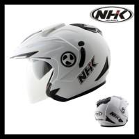 Helm Nhk Aviator 2 Visor Solid Terjamin