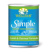 Wellness Simple Limited Ingredient Diet Lamb & Oatmeal Formula 12.5oz