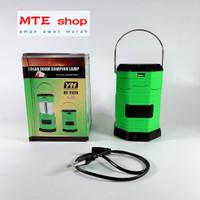 Solar Zoom Camping Lampu LED powerbank/Lentera senter emergency