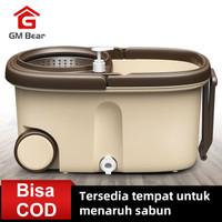 GM Bear Alat Pel Lantai Ultra Mop sekali putar langsung kering super