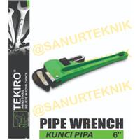 """Kunci Pipa tekiro 6 / Pipe Wrench TEKIRO 6"""" (6 in / 6 inch / 6in)"""