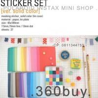 Jual Promosi Instax Mini Polaroid Masking Sticker Solid Color Jakarta Pusat Bintangmall3 Tokopedia