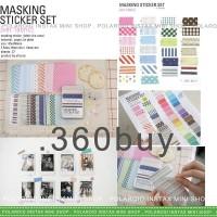 Jual Promosi Instax Mini Polaroid Masking Sticker Fabric Pattern Color Jakarta Pusat Bintangmall3 Tokopedia