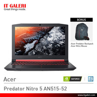 Laptop Gaming Acer Predator Nitro 5 AN515-52 NH.Q4ASN.003 Murah
