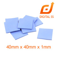 Peltier Thermal Pad Heatsink Cooling Conductive Silicone 40mmx40cmx0.1