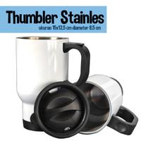 Mug Tumbler stainles untuk dingin dan panas 500 ml diameter 8.5 cm