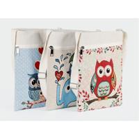TS91 Wise Owl sling bag / Tas Selempang Wanita / Slempang
