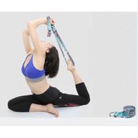 Y012 Motif Yoga Strap / Yoga Belt / Yoga D Ring / Tali Yoga / Fitness