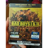 Bad Boys I & II - Best Buy Exclusive Steelbook Blu-ray + 4K UHD