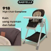 High chair Babyelle BE918 Campione / kursi makan bayi