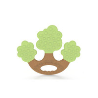 MOOIMOM Teether Gigitan Bayi Mombella Apple Tree Teether