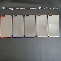 Iphone 6 plus 5,5 inch SHINING CHROME TPU CASE CLEAR Silicone Case