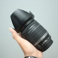 LENSA CANON EF-S 18-200mm IS BONUS HOOD