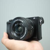 SONY A6000 kit 16-50mm OSS SC 2rb LENGKAP