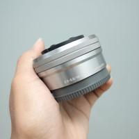 LENSA KIT SONY E 16-50mm OSS SILVER