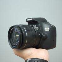 CANON EOS 1500d kit 18-55mm IS II LENGKAP